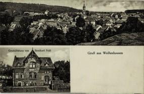 Gruss aus Wolfenhausen - Geschäftshaus von Bernhard Fuld
