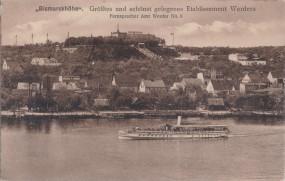 Bismarckhöhe - Größtes und schönst gelegenes Etablissement Werders 1918