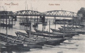 Plaue (Havel) - Fischer-Hafen 1917