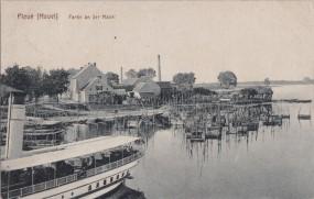 Plaue (Havel) - Partie an der Havel 1917