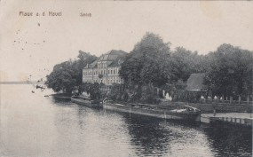 Plaue a. d. Havel - Schloß 1917