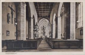 St. Katharinen - Halberstadt - Innenansicht 1938