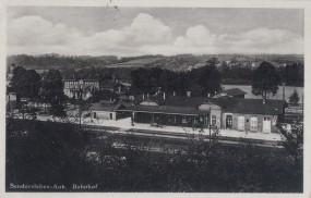 Sandersleben-Anh. - Bahnhof 1937