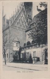 Zeitz - Erker am Rathaus