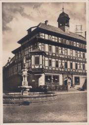 Vacha vor der Rhön, die Wildemarck mit Vitusbrunne 1936
