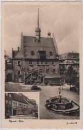 Pößneck - Thür. - Hotel Weisses Ross 1937