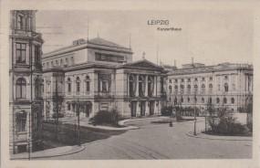 Leipzig - Konzerthaus 1917