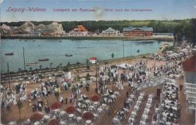 Leipzig-Waren - Lunapark am Auensee - Blick nach der Gebirgsbahn 1917