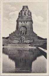 Reichsmessestadt - Leipzig - Völkerschlachtdenkmal 1939