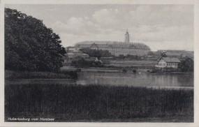 Hubertusburg vom Horstsee 1939
