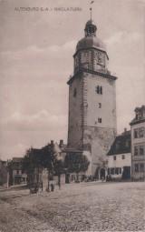 Altenburg S.-A. - Nikolaiturm 1917