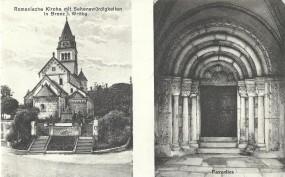 Romanische Kirche mit Sehenswürdigkeiten in Brenz