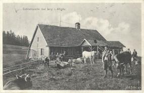 Schletteralm bei Isny i. Allgäu