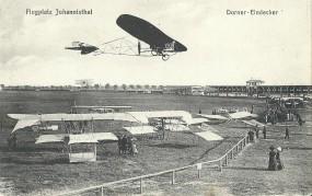 Flugplatz Johannisthal, Dorner - Eindecker